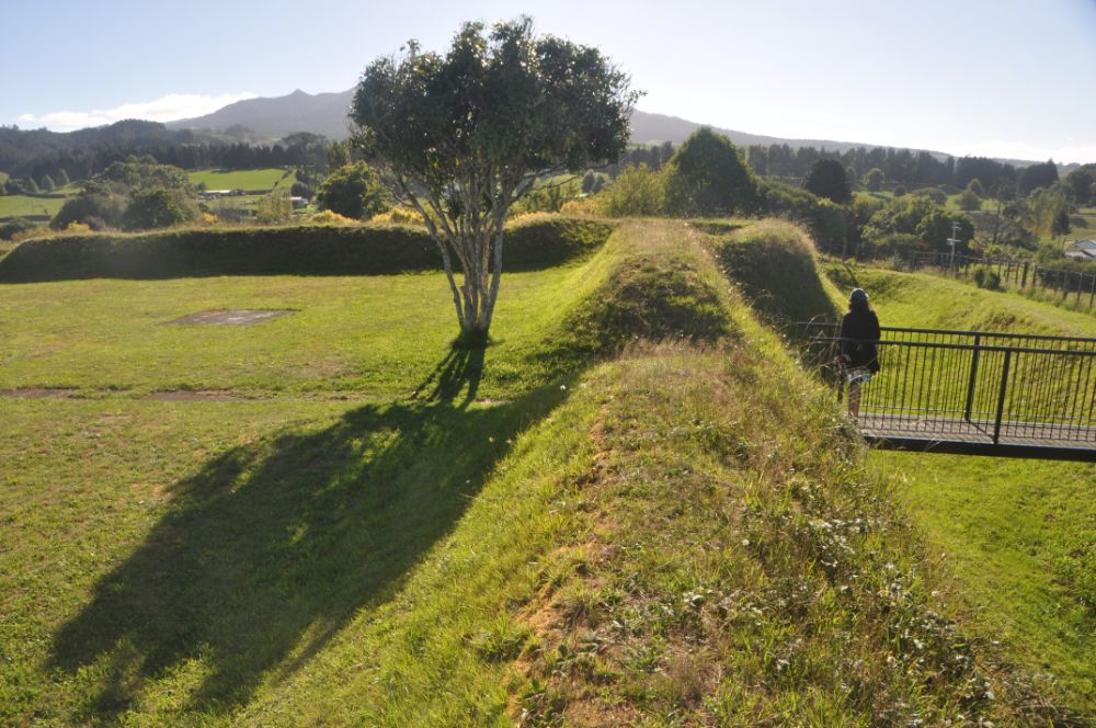 The Alexandra Redoubt at Pirongia